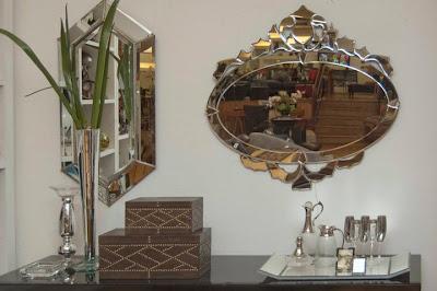 4 Espelhos venezianos para a casa nova...!