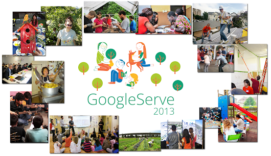 GoogleServe 2013: Giving back on a global scale
