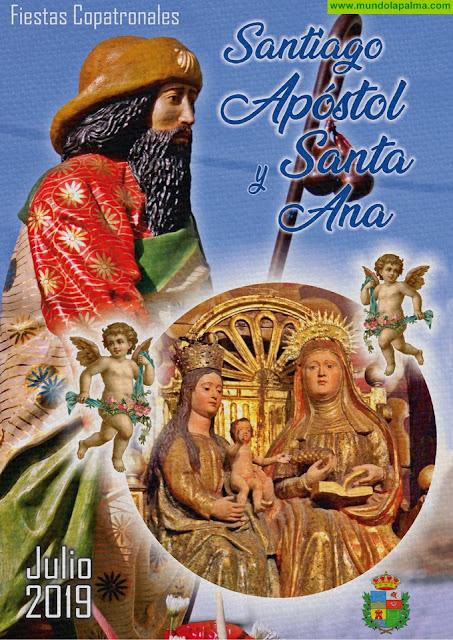 Fiestas Copatronales en honor a Santiago Apóstol y Santa Ana 2019 - Programa de actos - Breña Baja