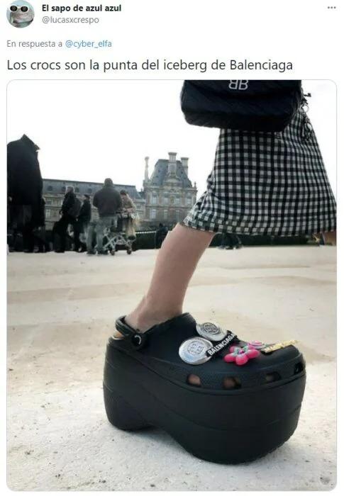 Justo cuando pensabas que lo habías visto todo, llegan los 'Stiletto Crocs'