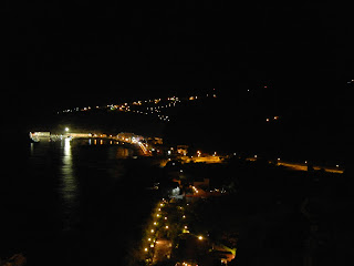 Vista desde el hotel de Playa Santiago de Noche