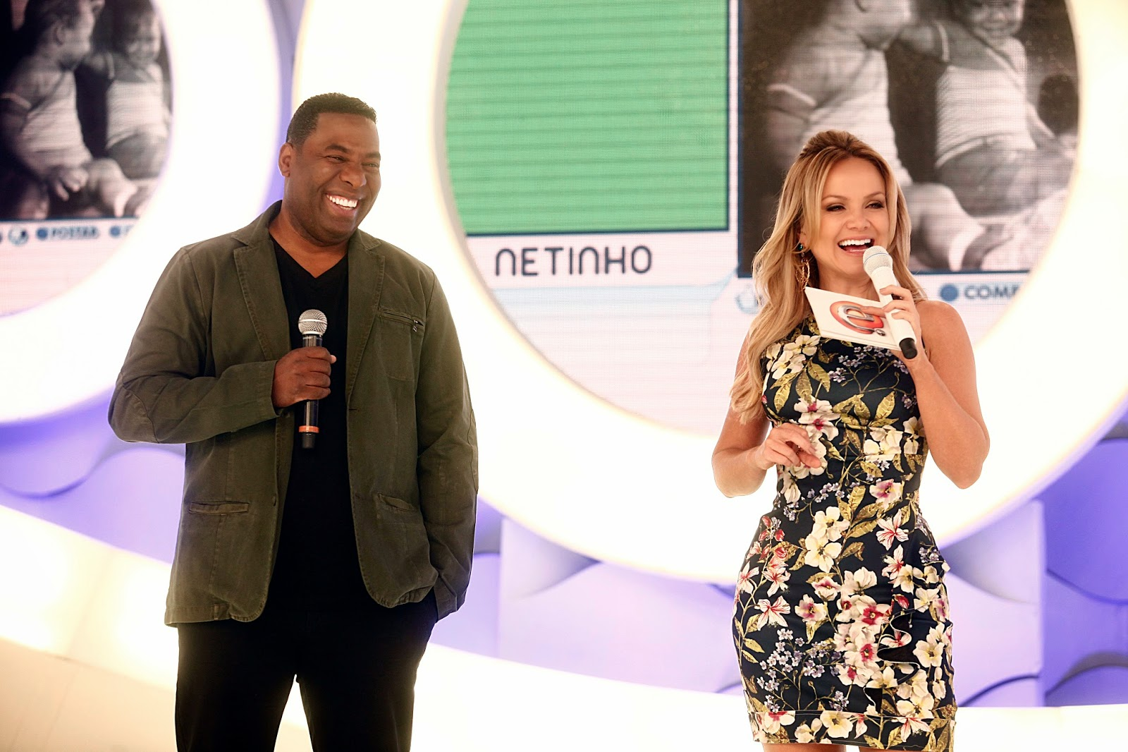 Netinho ainda é surpreendido por sua namorada a89de1debc7