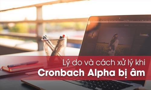 Lý do và cách xử lý khi hệ số Cronbach Alpha bị âm
