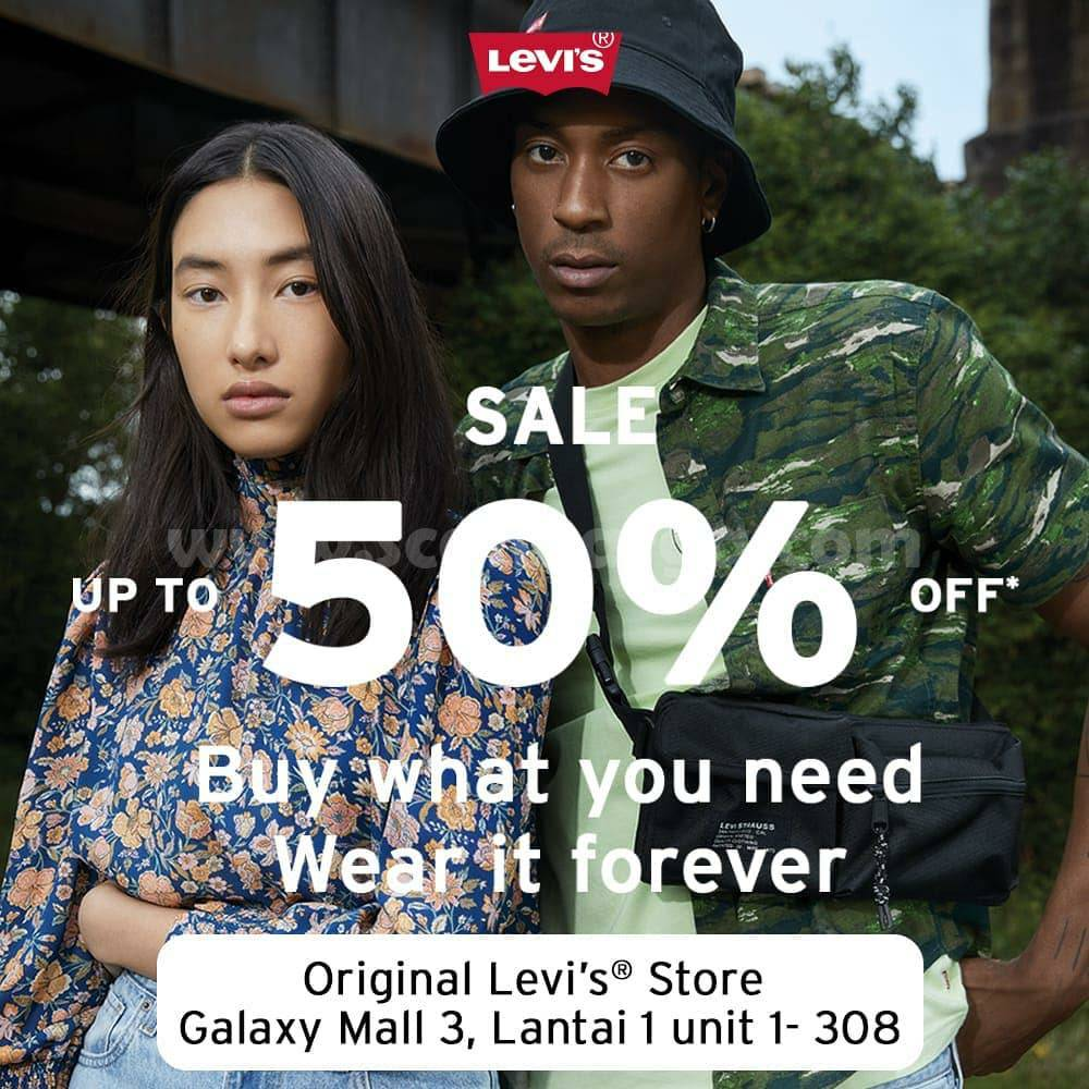 Promo LEVI'S End Of Season Sale Up to 50% Off*