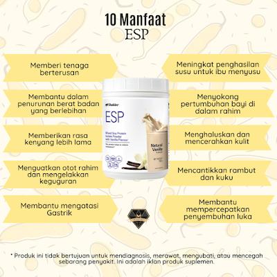 10 Manfaat ESP Shaklee