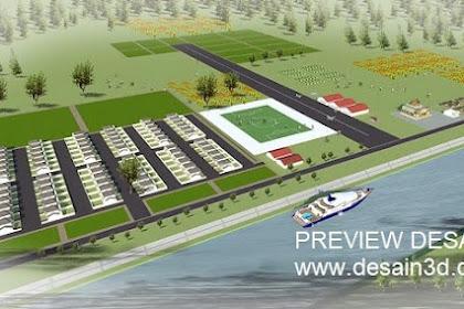Jasa Desain Kawasan Taman Agrowisata Area Rekreasi Perkemahan Outbond