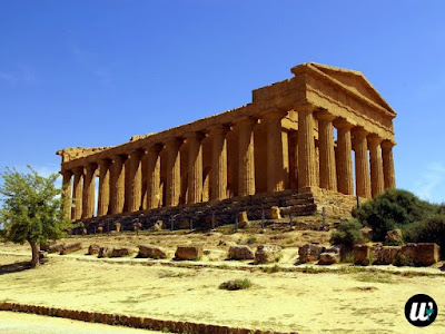 Temple of Concordia, Valle dei Templi, Agrigento | Sicily, Italy | wayamaya