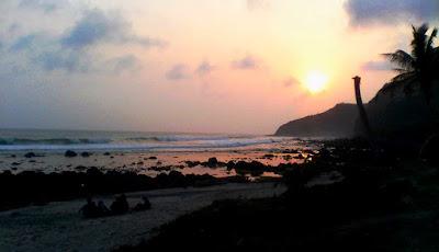 Pantai Manganti, Ayah di kebumen