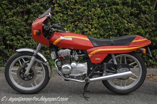 Les cousines Benelli / Moto Guzzi 254 (Années 70) _DSC0012