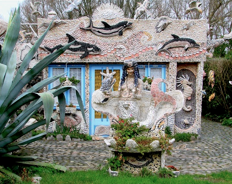 Extreme Shell House Fairytale Home