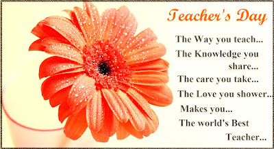 Teachers Day 2016 Poem