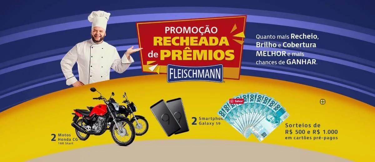 Promoção Fleischmann 2020 Recheada de Prêmios Motos Celulares e Mais