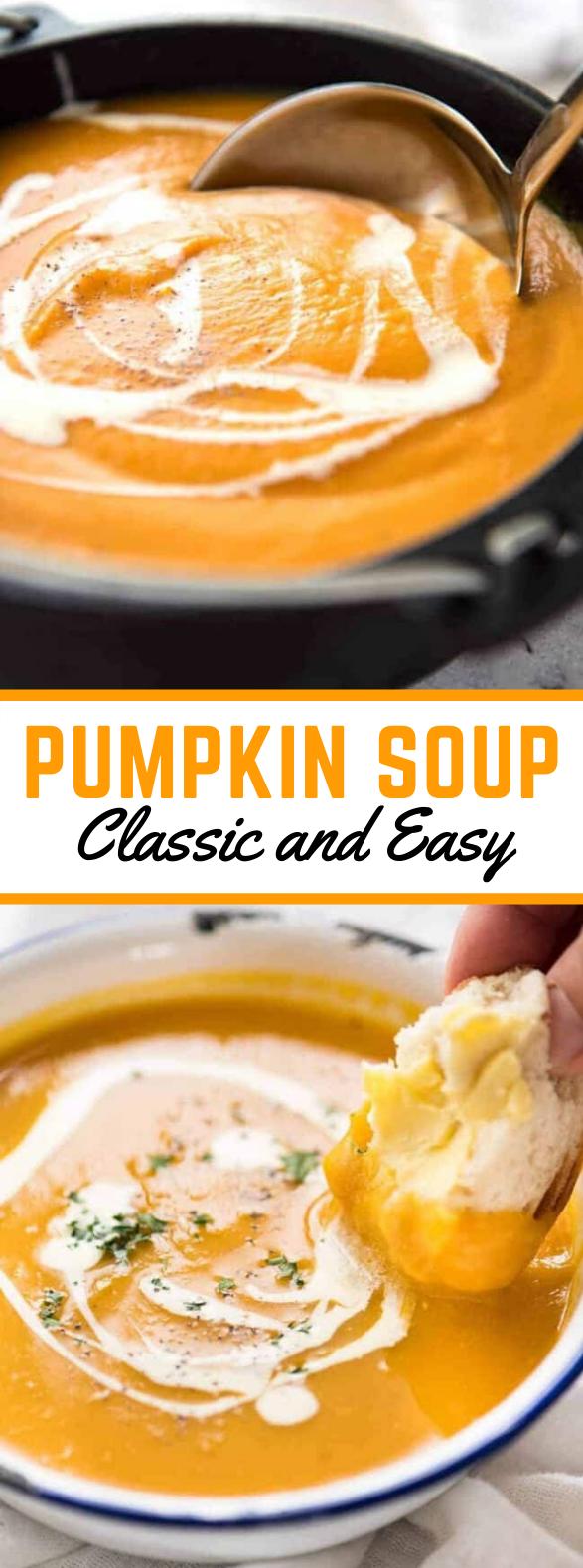 Pumpkin Soup #dinner #meals