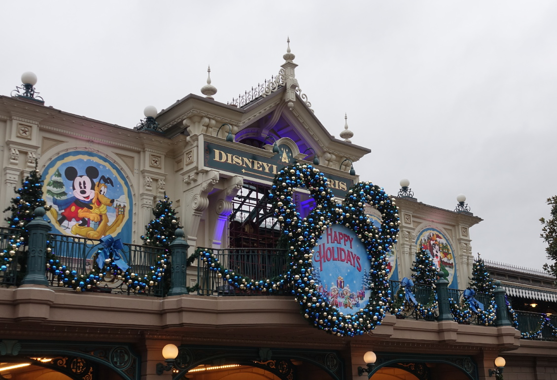 Disneyland Paris - Weihnachten 2019 - Dekoration