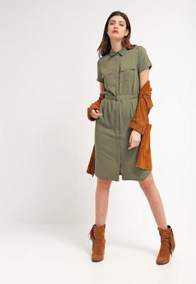 Vestidos casuales de manga