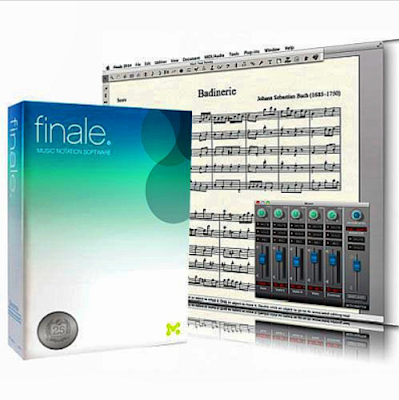 MakeMusic Finale كتابة النوته الموسيقية