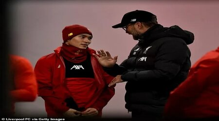 Liverpool 'move Firmino's place in the dressing room' to accommodate Minamino