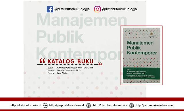 Manajemen Publik Kontemporer