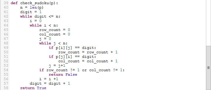 How to create Sudoku solution checker in python   Python Basics