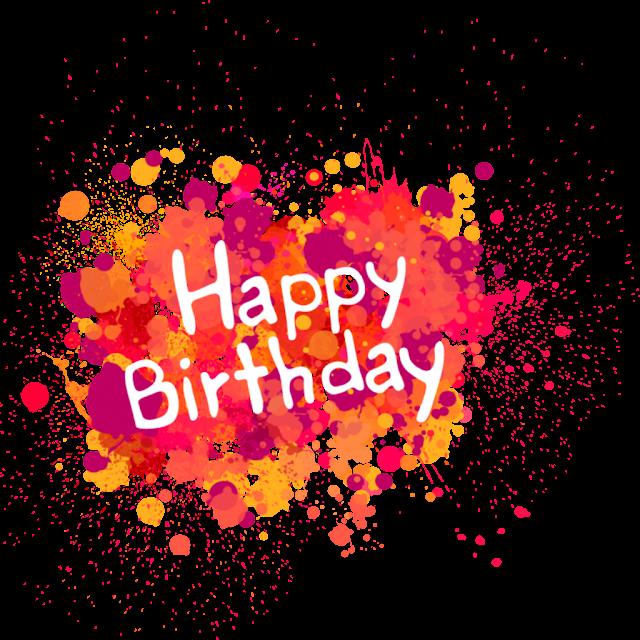 Happy Birthday pngtransparent logo design