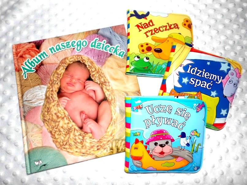 Album naszego dziecka i książeczki kąpielowe