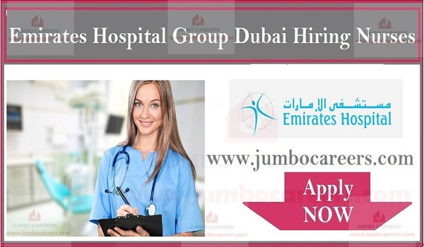 Latest Nursing jobs in Dubai, UAE hospital jobs with free visa,
