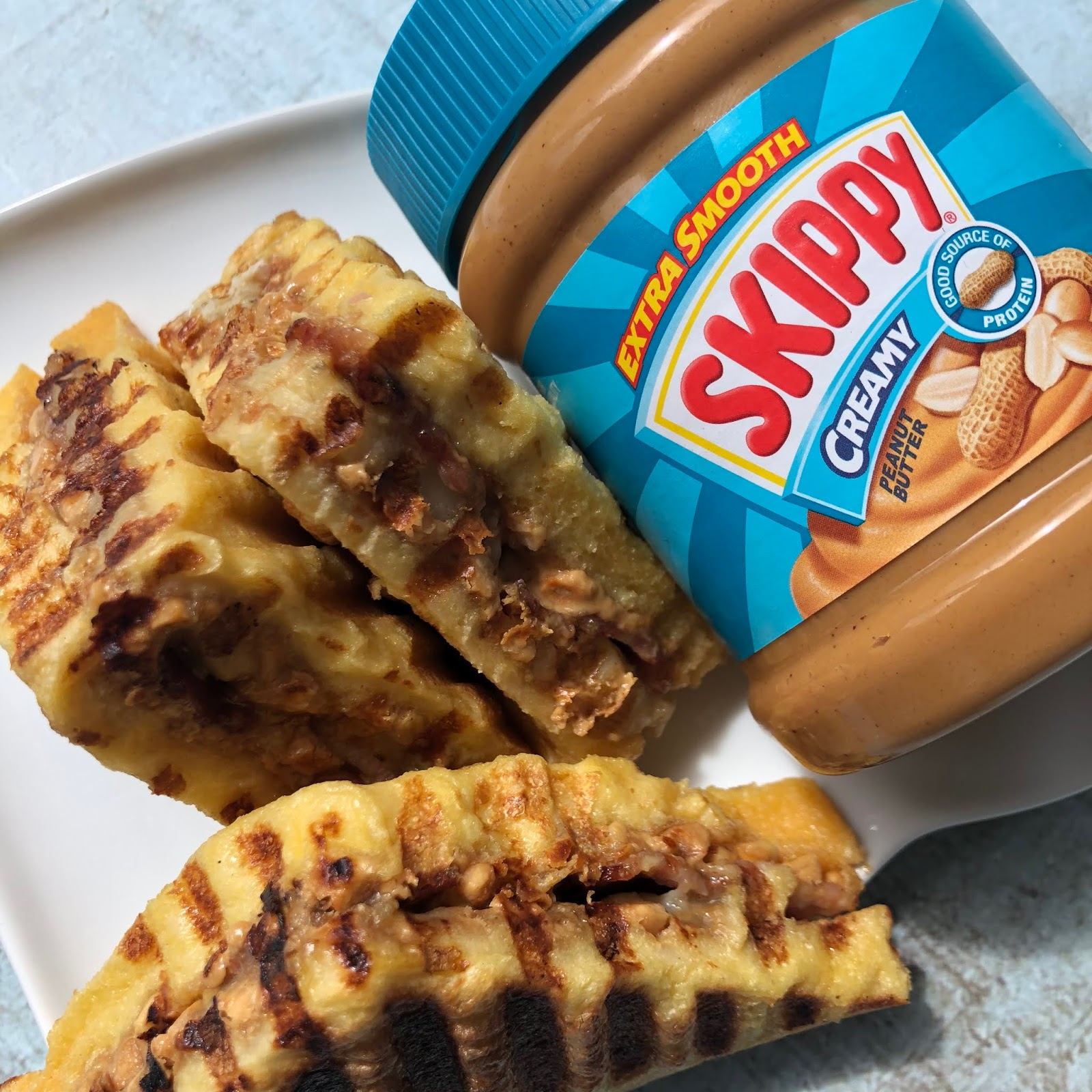 Skippy Peanut Butter Bacon And Banana French Toast Elvis Sandwich Foodie Quine Edible Scottish Adventures