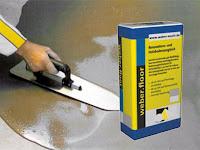 Treppenrenovierung - Podest-Ausgleichs-Spachtel
