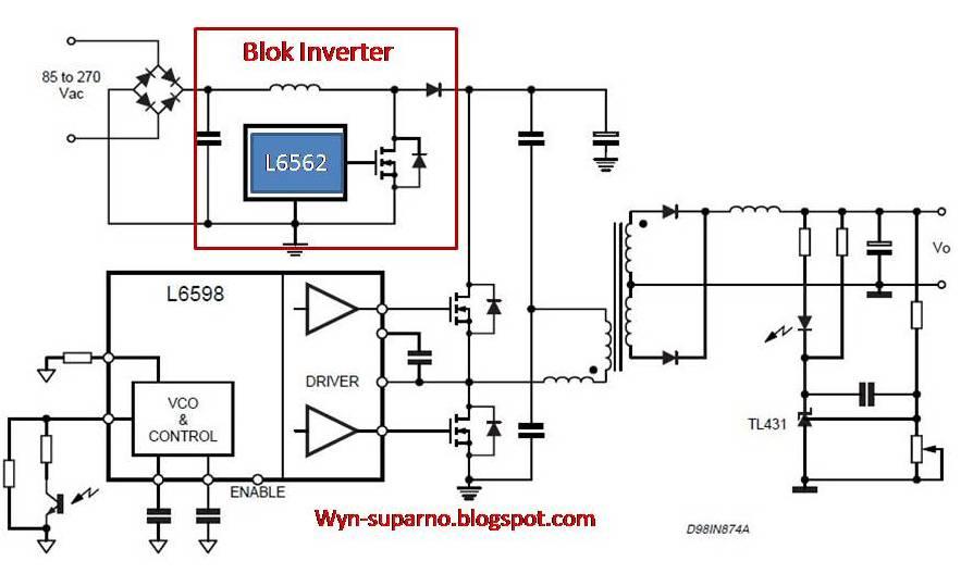 Ingin berbagi ilmu dan pengalaman hbbx 041a blok power supply lcd blok inverter menggunakan ic l6562 ccuart Gallery