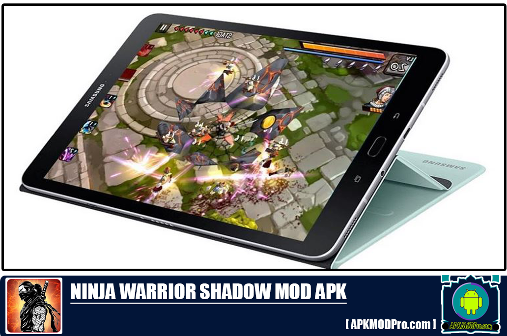 Download  ninja warrior shadow mod apk