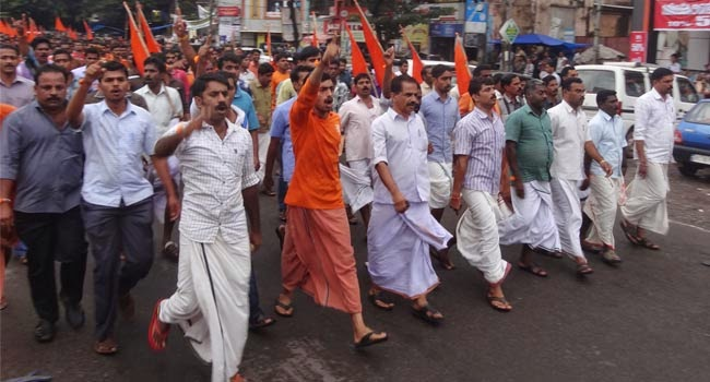 Rss: RSS Demands Action In Kerala, Met Home Minister Shri