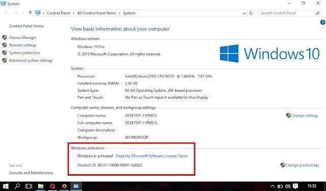 Cara Cek Linsensi Windows Aktif Atau Tidak