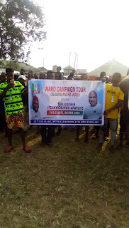 Ararume visits Osuama Anara Ward