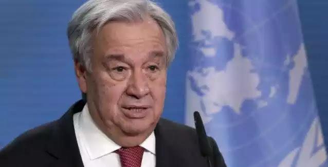ΟΗΕ που δεν έχει σταματήσει κανέναν πόλεμο από τότε που το ίδρυσαν  : Ας κάνουμε το 2021 ένα έτος θεραπείας!