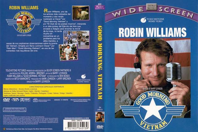 Carátula dvd: Buenos días, Vietnam (1987)