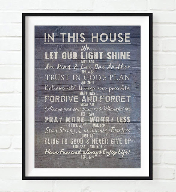 Scripture Wall Art, What You Have, Ephesians