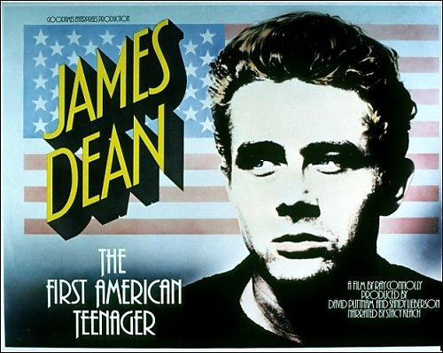 James Dean The First American Teenager Film Poster