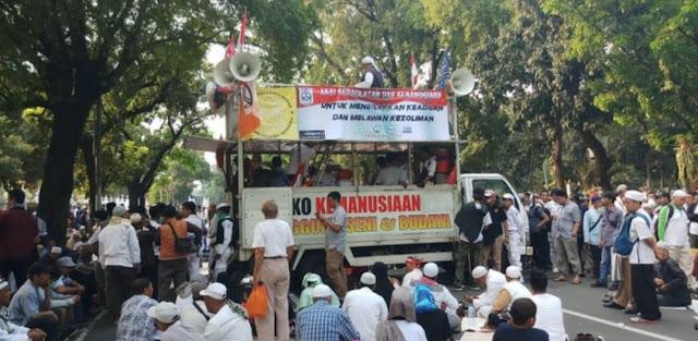 Prabowo Kalah, FPI Serukan Jihad, Polisi : Jangan Terprovokasi