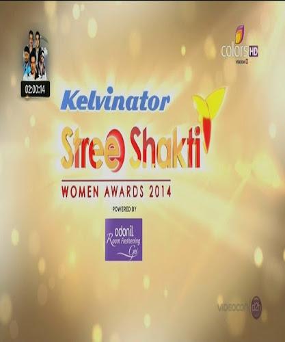 Poster Of Hindi Award Show Stree Shakti Awards (2014) Free Download Full New Hindi Award Show Watch Online At worldfree4u.com