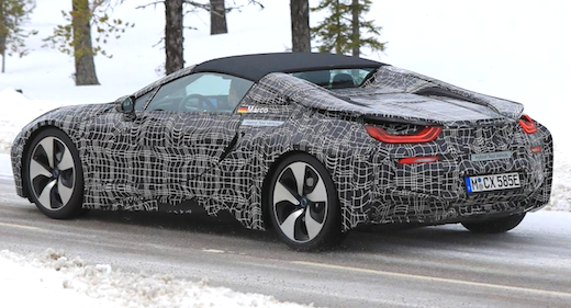 2019 BMW i8 Roadster Rumors