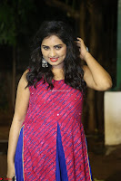Srushti in beautiful Pink Sleeveless Dress Cute Actress Dimples ~  Exclusive 040.JPG