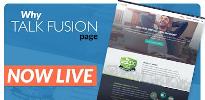 de ce, Talk Fusion,web page,