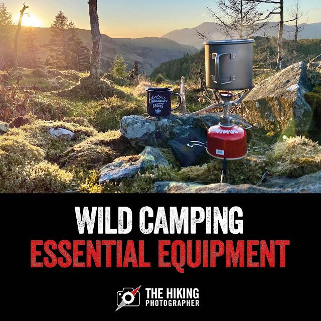 Wild camping essential equipment