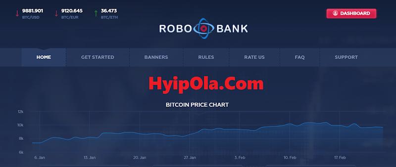 [PROBLEM] Review Robobank - Dự án đầu tư từ 10$, thanh toán Manual