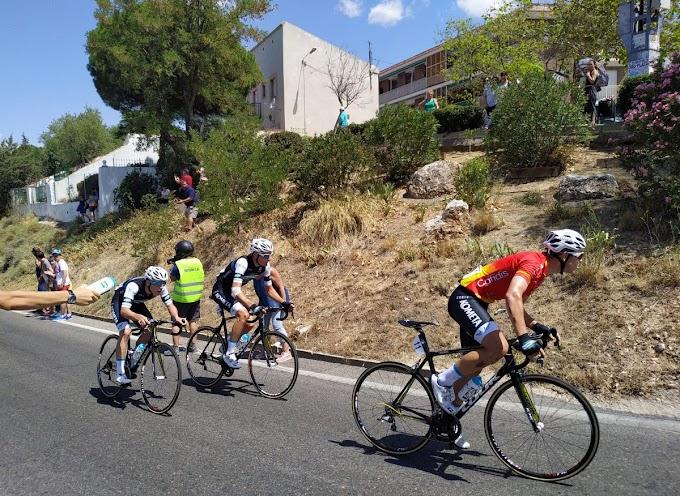 Javier Serrano encabeza un nuevo triple del Kometa Cycling Team junior en la Copa de España