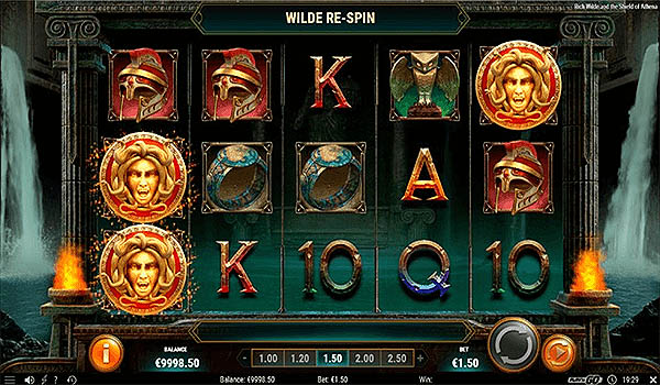 Main Slot Indonesia - Rich Wilde and the Shield of Athena (Play N Go)