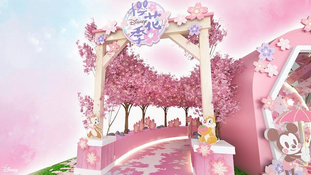 2021年3月份活動預告, 迪士尼 X MOKO新世紀廣場呈獻, MOKO春の花見