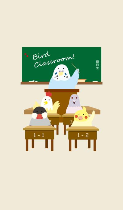 Bird classroom