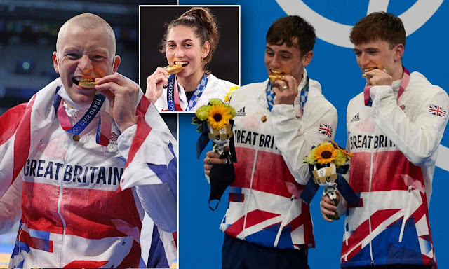 Olympics organisers tell winners NOT to bite medals - they're made of recycled mobile phones