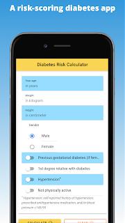 A risk-scoring diabetes app